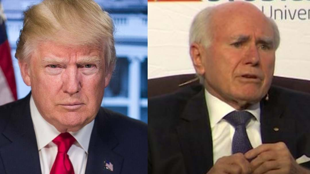 Ex PM John Howard Urges Aussies To 'Give Trump A Chance'