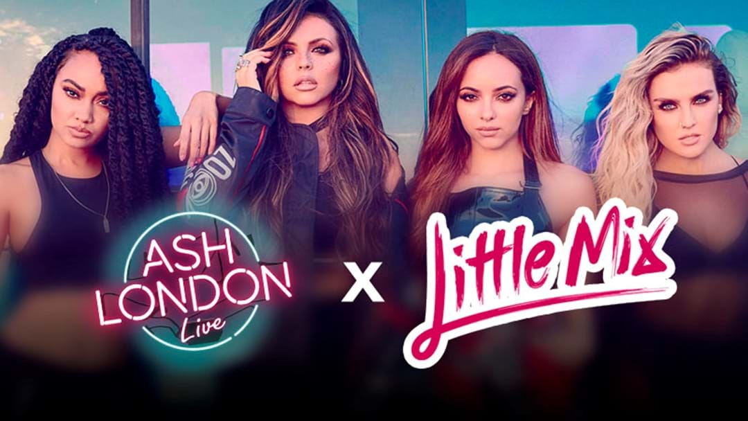 Ash London LIVE's Little Mix Up