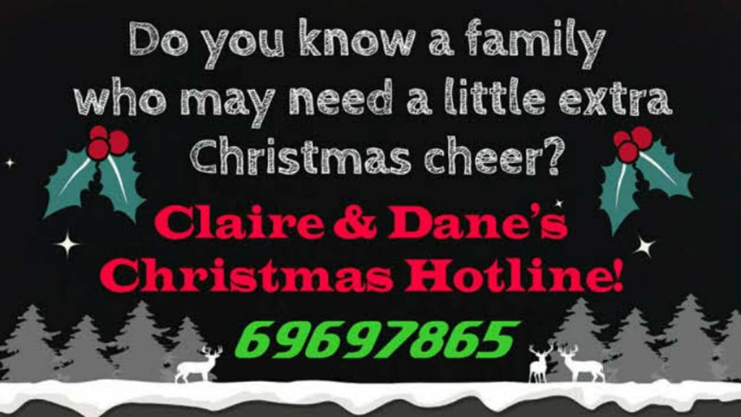 Claire and Dane's Christmas Hotline