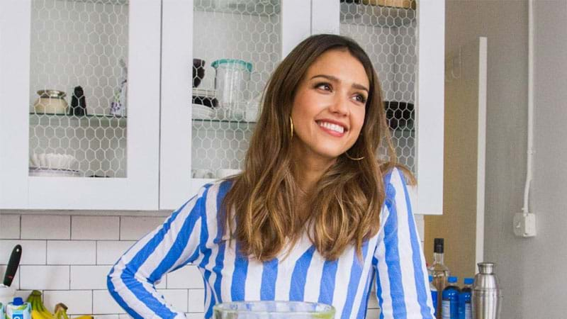 Jessica Alba Just Revealed That She's Expecting Her Third Child In The Most Adorable Video