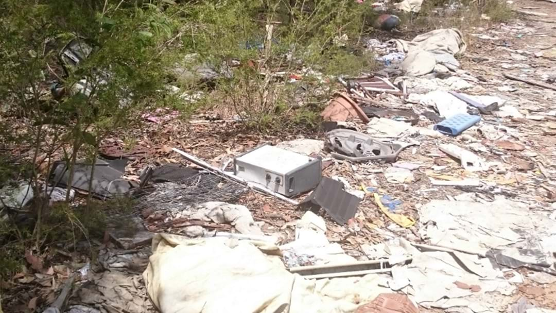 Asbestos, Needles Found At Illegal Dump Site Near Cessnock