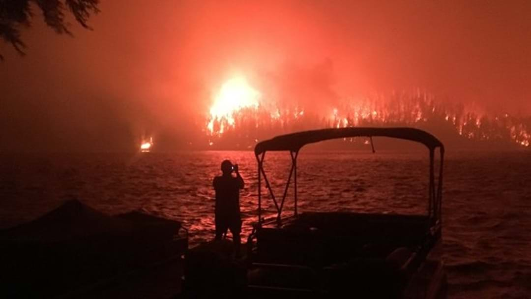 Brave Aussie Firefighters Are Helping Tackle Canadian Wildfires