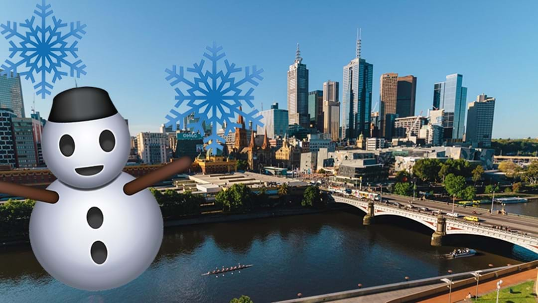 Melbourne Has Shivered Through The Coldest Start To Winter In 36 Years