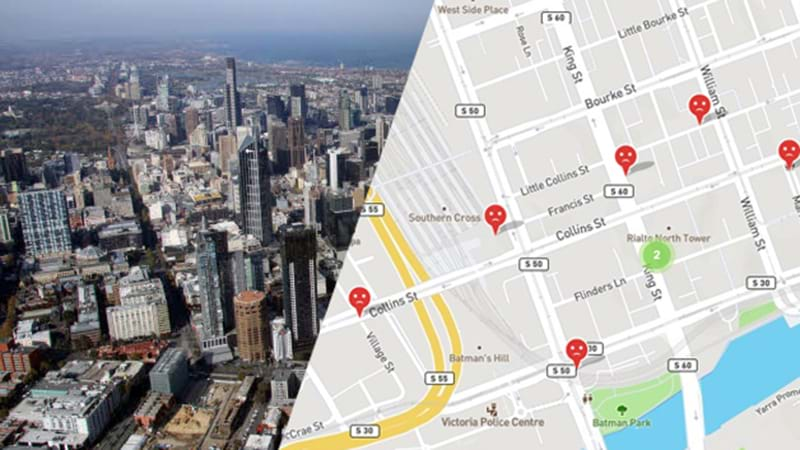 Article heading image for Map Reveals Most Dangerous Areas For Women In Melbourne