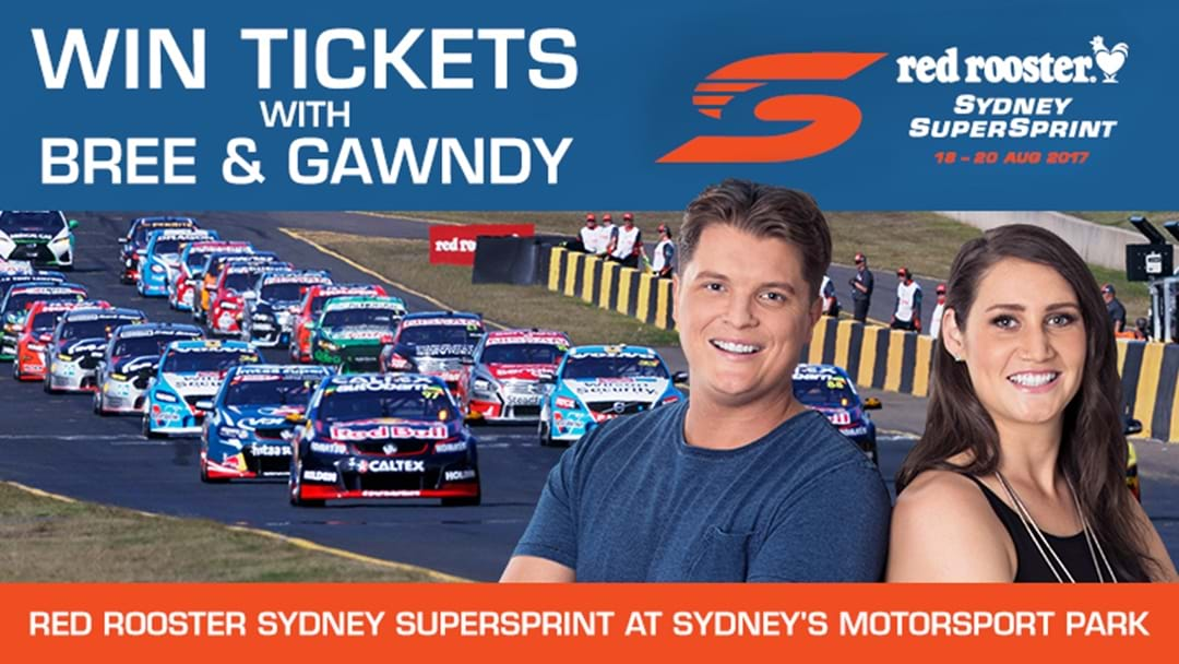 Score tickets to the Supercars Red Rooster Sydney SuperSprint