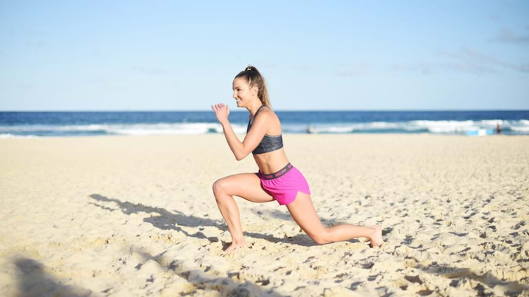 BUF Basics: How To Lunge And Do Push-Ups
