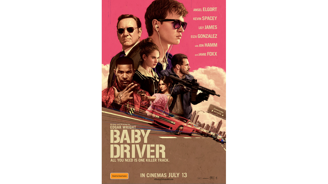 Want to head along to Baby Driver at the Movies?