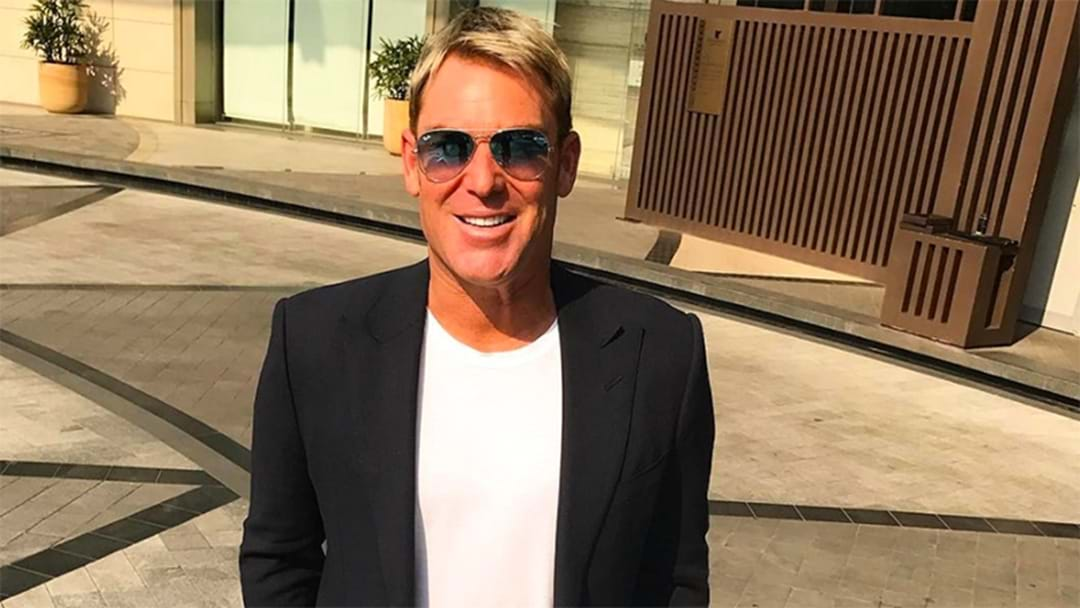 Shane Warne Shared A Very Unexpected New Look On Instagram