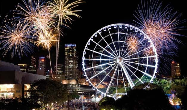 Article heading image for Where To Catch Fireworks In Brisbane This New Years Eve!