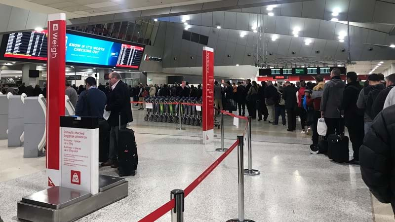 Security stepped up at Australian airports