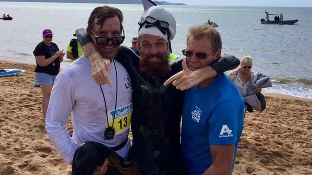 Quadriplegic Completes Inspiring Swim From Maggie To Townsville