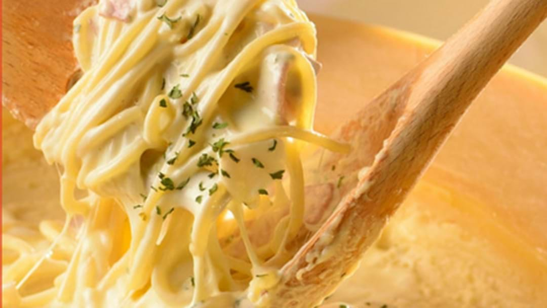 We Don't Want To Alarm You But This Melb Restaurant Is Selling Pasta Out Of  A WHEEL OF CHEESE