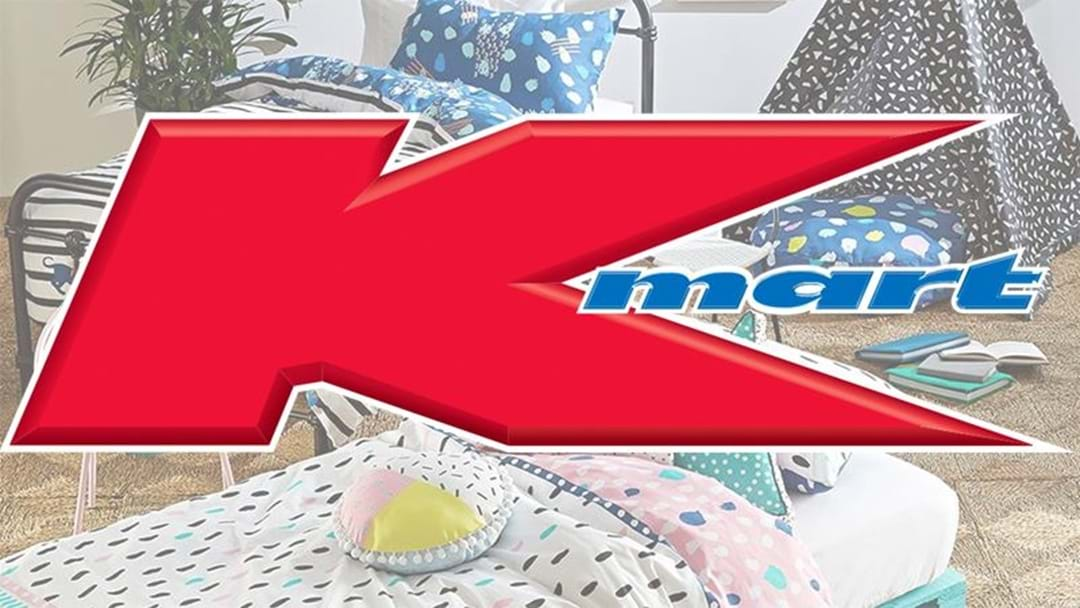 We Finally Know What The 'K' In Kmart Stands For!