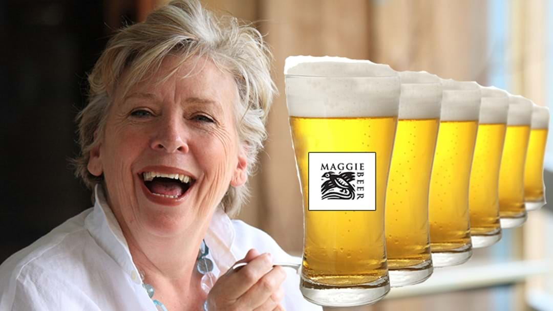 Maggie Beer just dropped the most iconic beer ad in Australian history.