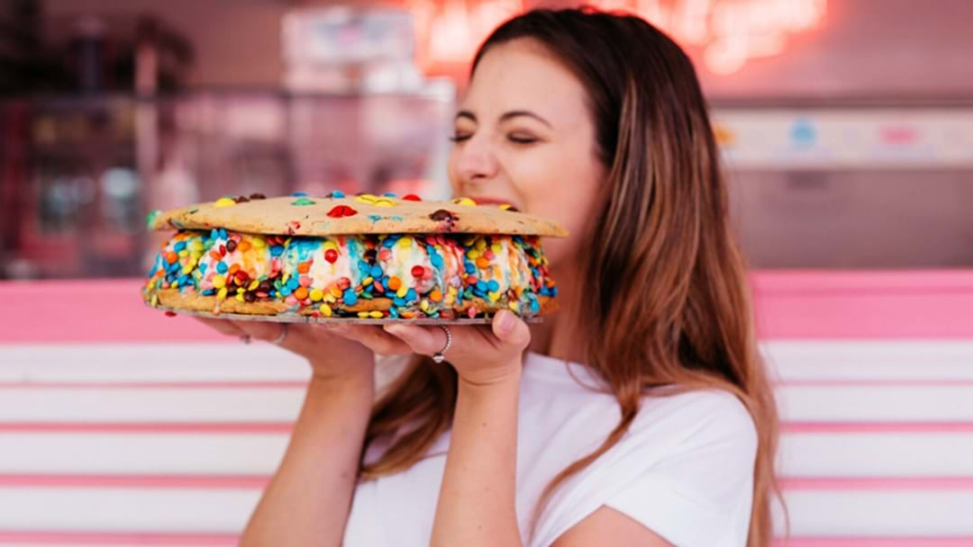 You Need To Grab This Whopper Ice Cream Sandwich In Brisbane Today!