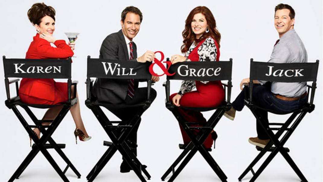 NBC's Will & Grace revival kicks off the first day of shooting
