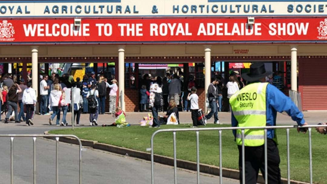 Security Review Ahead Of Next Month's Royal Adelaide Show