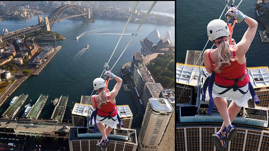 You Can Now Zip Line Over The City Of Sydney
