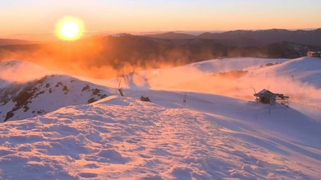 Avalanche Warning For Victoria's Alps After Bumper SnowFall