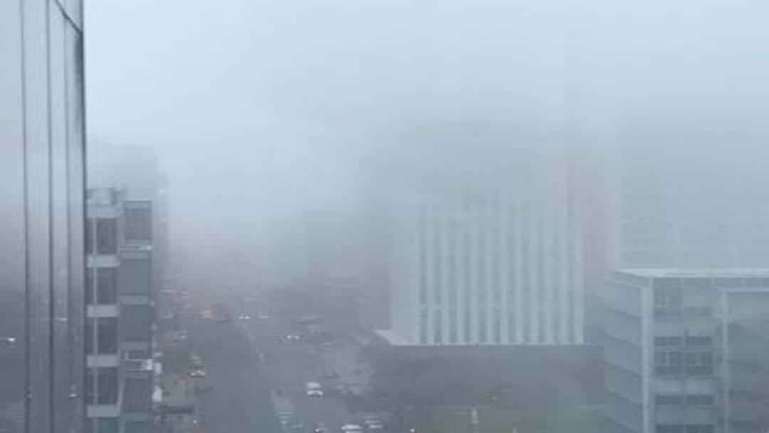 Fog Blanketing SA Making Conditions Dangerous