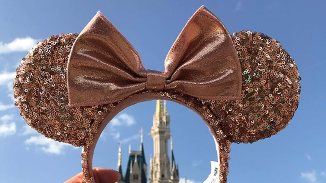 Look How Cute Disney's New Rose Gold Sequinned Minnie Mouse Ears Are!
