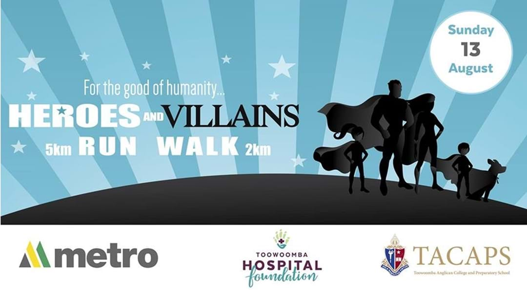 Heroes and Villains Fun Run and Walk