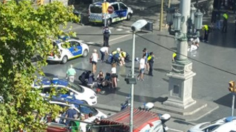 Police arrest suspect, search house after Barcelona attack