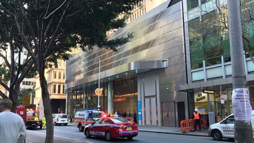 Two Injured As Panel Ripped From Building By The Sydney Winds