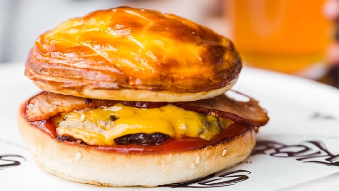Meat Pie Burgers Are Now Available In Melbourne
