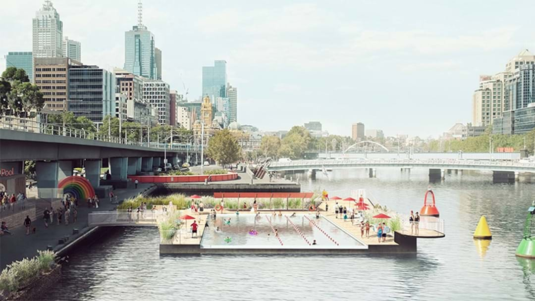 Some Legends Want To Build A Swimming Pool On The Yarra River