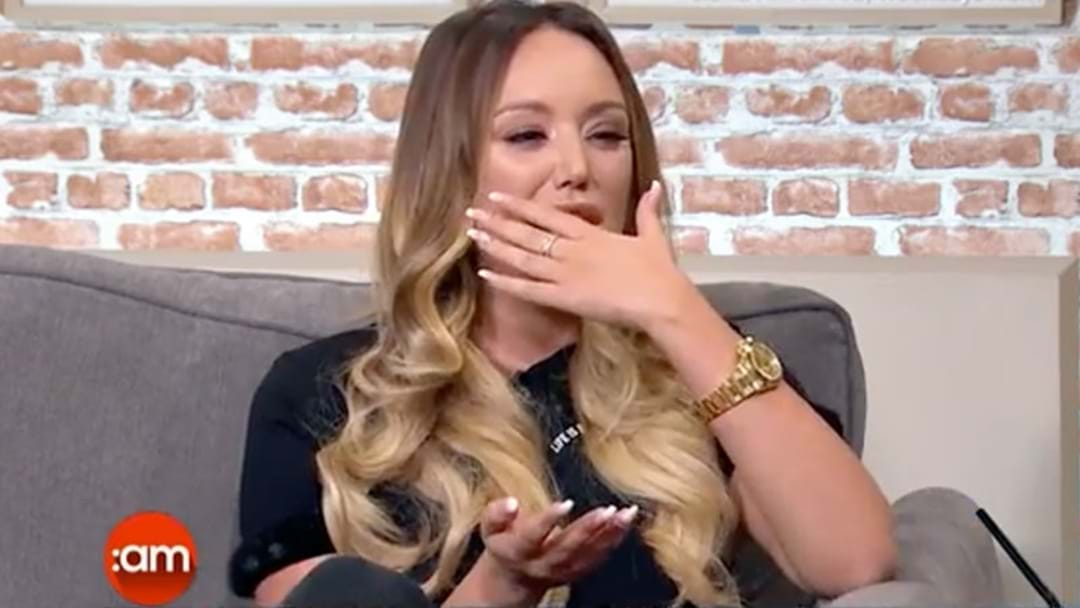 Charlotte Crosby Breaks Down On TV Discussing Gaz's Baby News