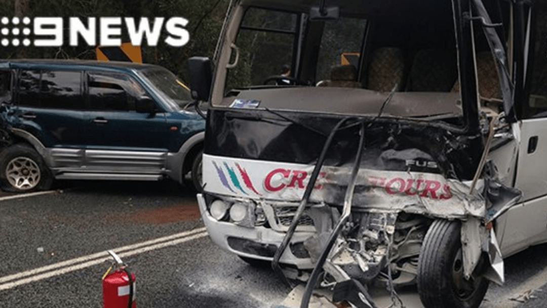 Sixteen Hurt In Gold Coast Minibus Crash