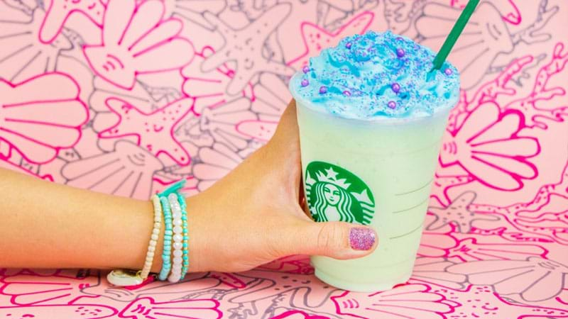 Article heading image for It's Happened: Starbucks Has Released The Mermaid Frappuccino!