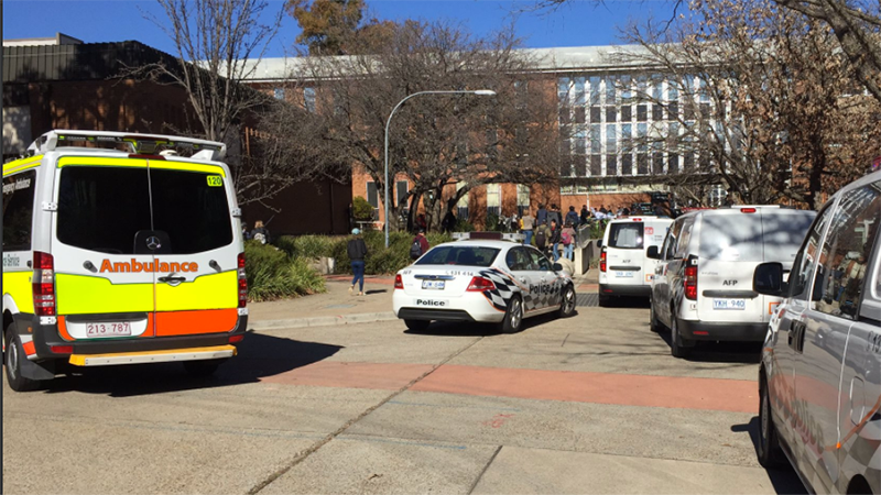 ANU students showed 'incredible bravery' in face of baseball bat attacker