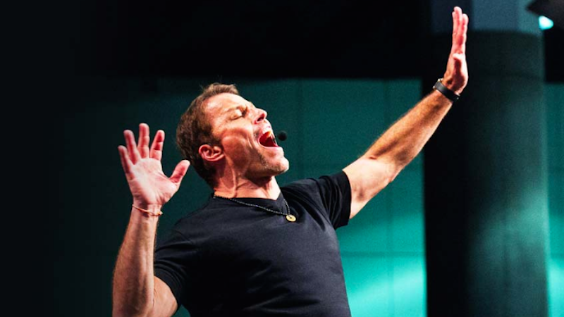 Article heading image for Tony Robbins' Firewalk Is A Trick - NOT The 'Power Of Positive Thinking'