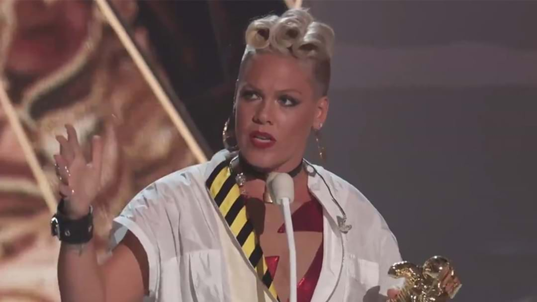 P!nk Is Currently Speaking Out On Twitter, Reminding Everyone What She's About