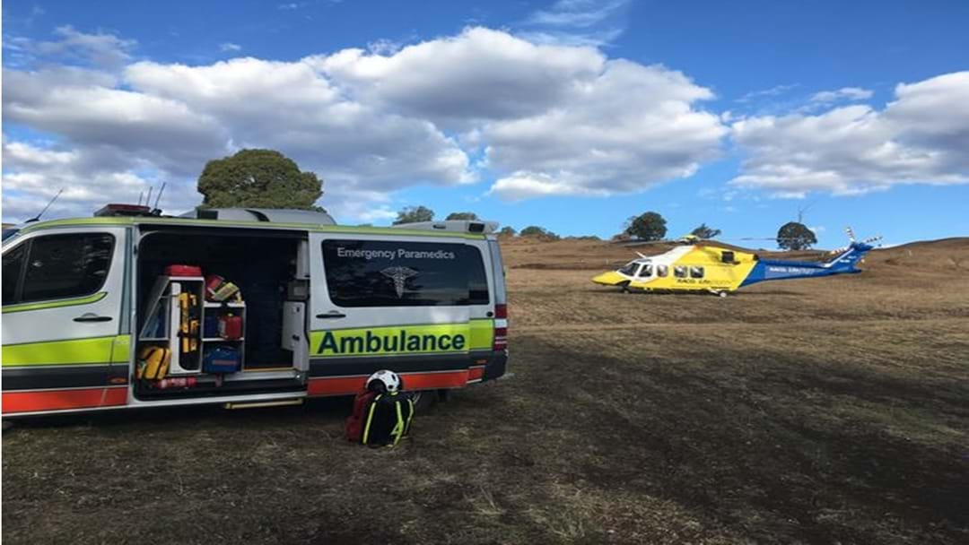 A Busy Weekend on The Downs for RACQ LifeFlight Rescue Chopper