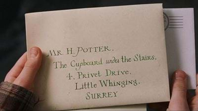 Harry Potter's Hogwarts Letter Up For Auction