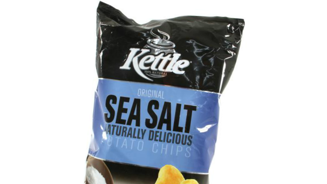 Kettle Chips Recalled Because They May Contain Rubber