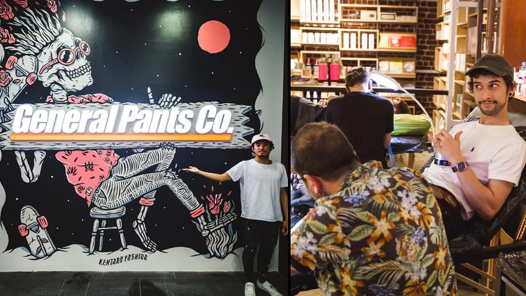 The Newest General Pants Store In Sydney Has A Tattoo Parlour Inside!