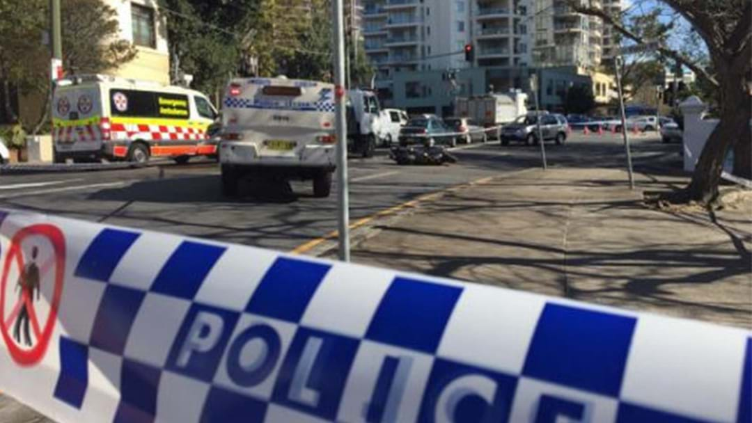 Crime Scene Established In Bondi After Major Accident