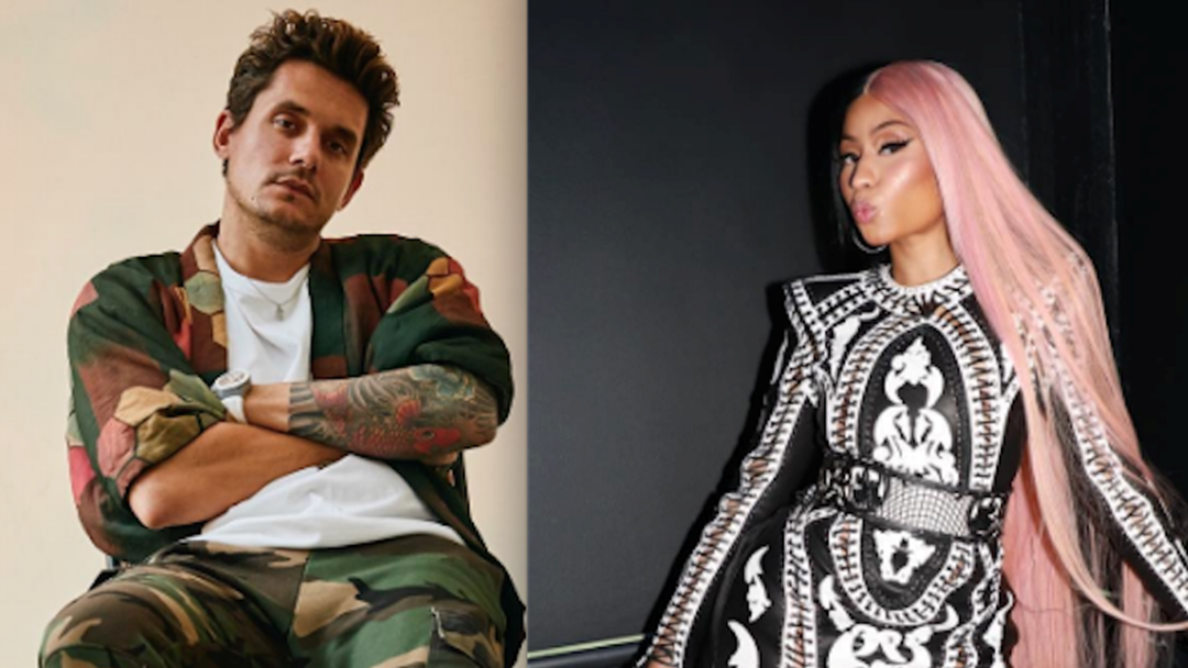 John Mayer & Nicki Minaj Had A Twitter FLIRT-Fest & Get The Popcorn