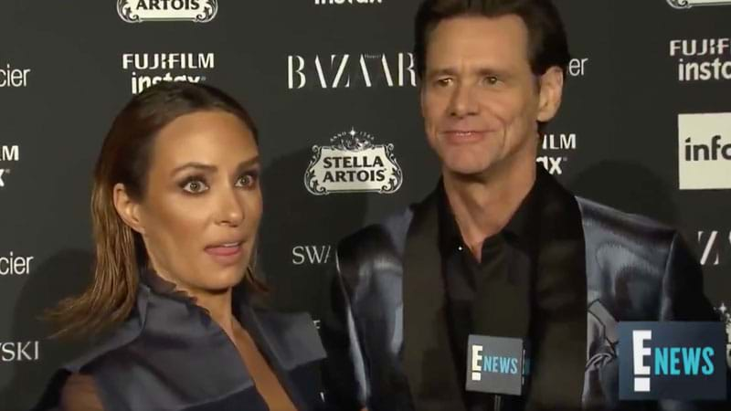 Jim Carrey's Awkward NYFW Interview Could Make You Question Everything