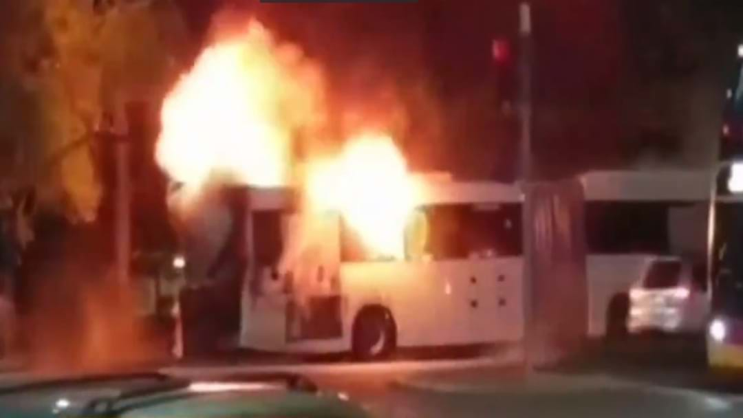 Adelaide Metro Catches Fire In The CBD