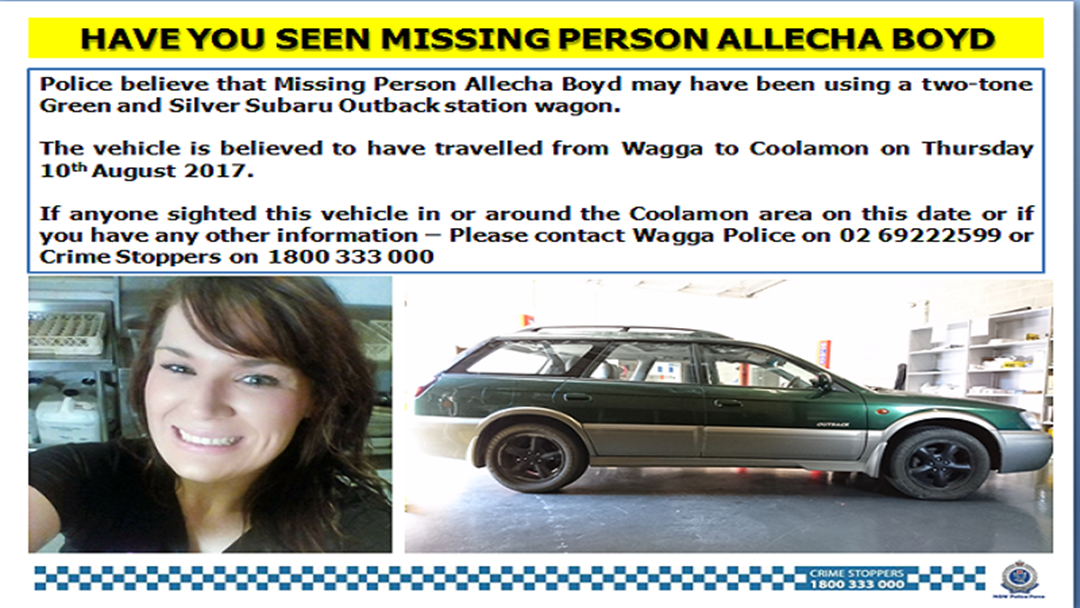 More Details Released In Search for Missing Woman