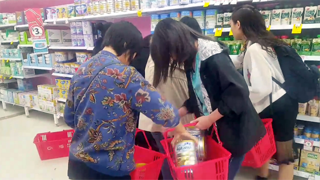 Video Showing Shoppers Scrambling For Baby Formula Causes Outrage