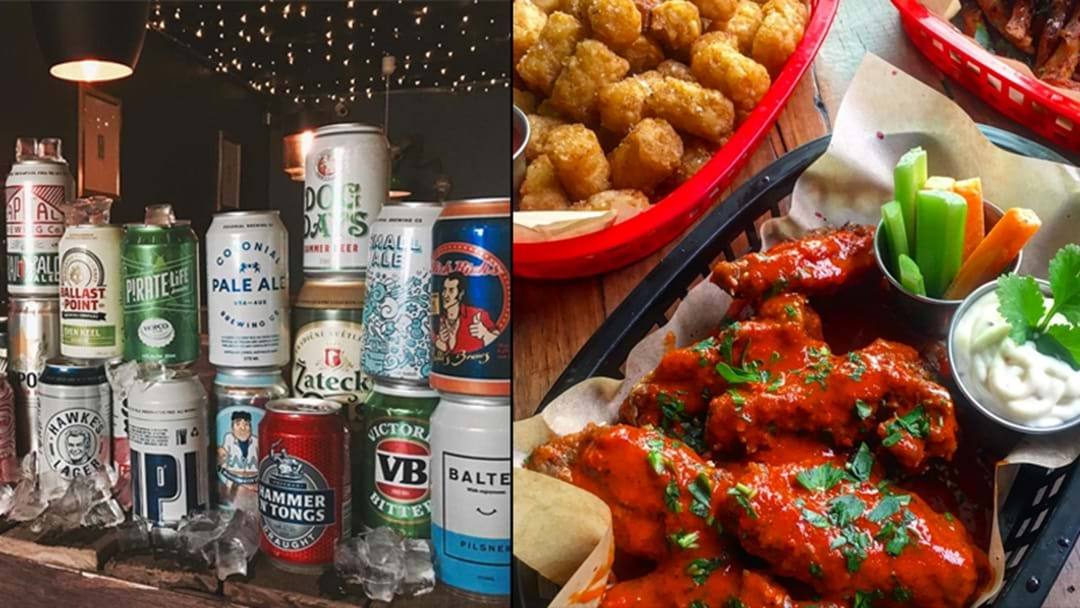 Sydney Now Has A Whole Bar Dedicated To Just Wings & Tins