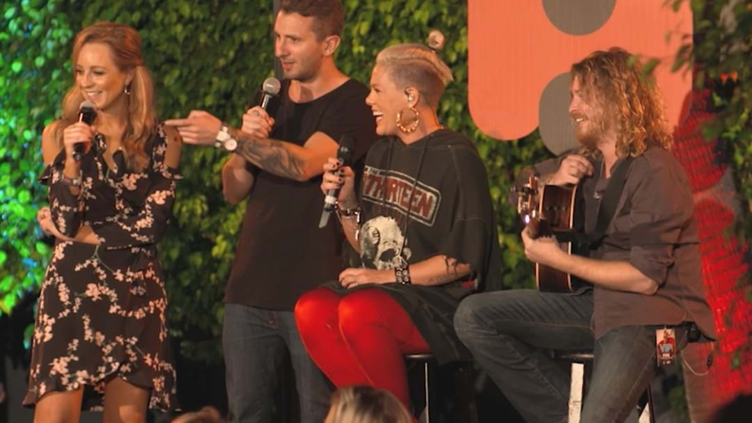 Relive P!nk's EPIC Performance On The World Famous Rooftop