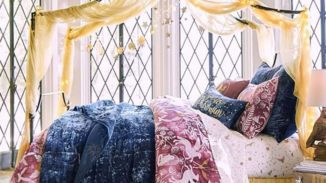 Pottery Barn Just Dropped A Harry Potter Home Collection & Take All Our Galleons