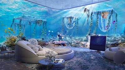 Sleep In An Underwater Hotel